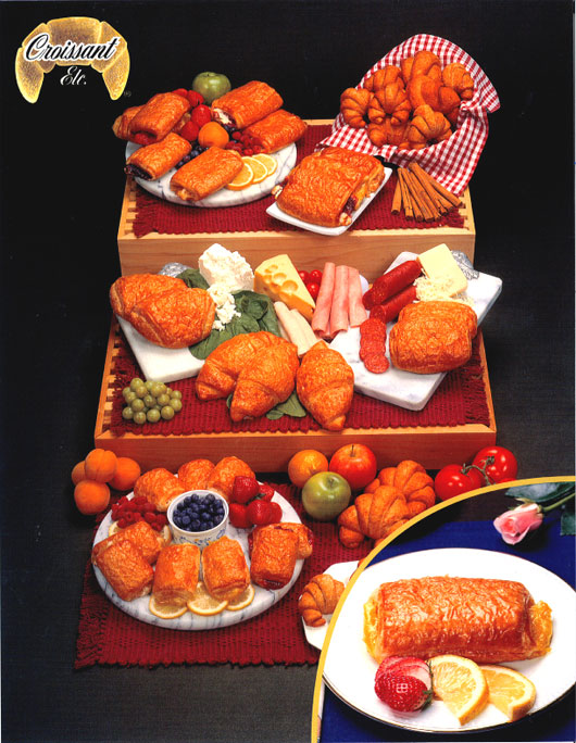filled croissants
